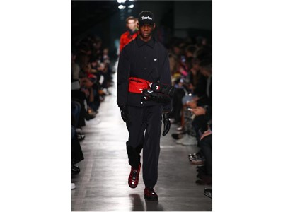 FILA Silva Trainer Featured in MSGM Fall/Winter 19 Men's Runway Show