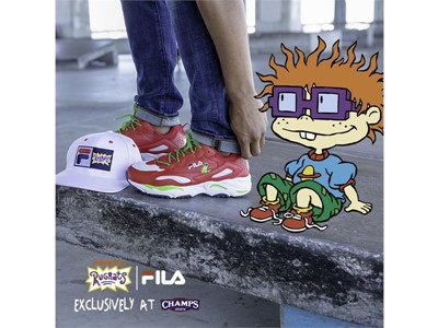 FILA x Rugrats Collection Launches Exclusively at Champs Sports