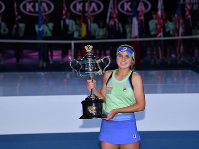 FILA's Sofia Kenin Soars to Maiden Grand Slam Title at Australian Open