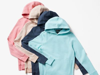 FILA Reveals a Gender-Neutral Capsule in Soft Color Palettes and Fabrics