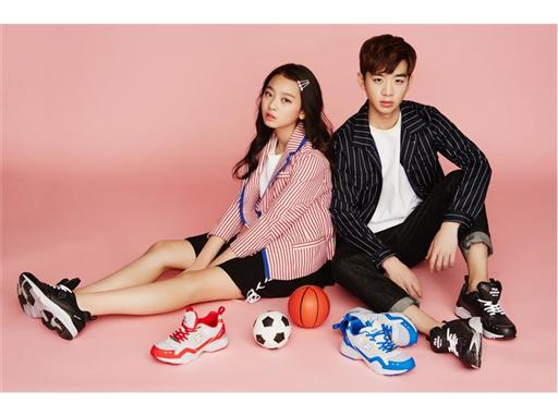 FILA KOREA, Shoes Campaign with Shin Dong-woo and Lee Soo-min