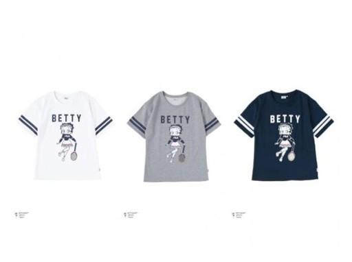 FILA x Betty Boop t-shirts