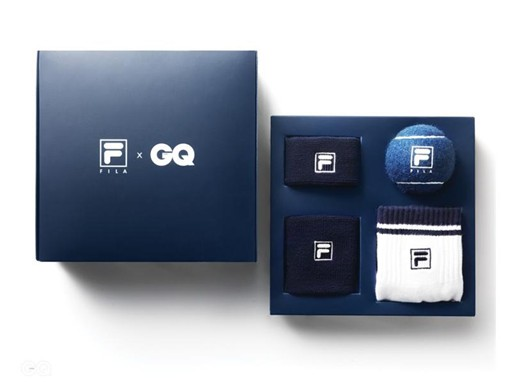 Collaboration FILA X GQ [SPECIAL EDITION-A SET OF FOUR TYPES]