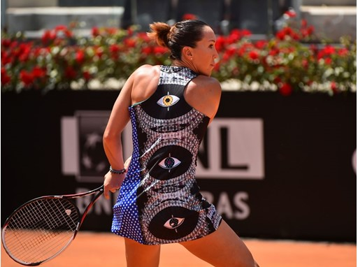 Jelena Jankovic Debuts the LOVE FILA BY MARION BARTOLI Collection In Rome