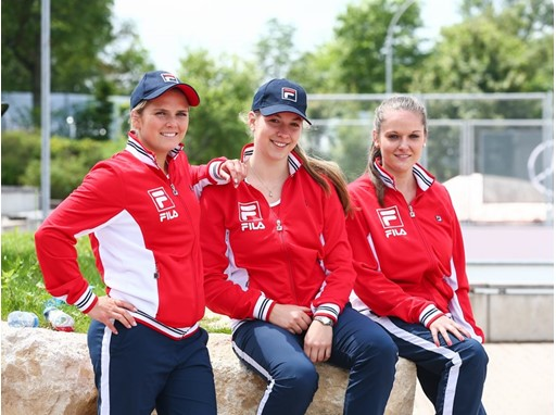 FILA Personnel at the Mercedes Cup in Stuttgart