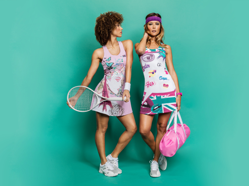 Introducing LOVE FILA by Marion Bartoli