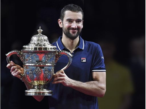 FILA Tennis Athlete Marin Cilic Wins Swiss Indoors Title
