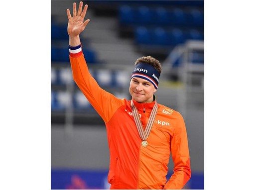 "Netherlands ""Skating Emperor"" Sven Kramer Wins 8th Title with a 5000m Win at the 2017 International Skating Union (ISU)"
