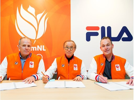 0fa8984d24b6 FILA Has Entered Into a Sponsorship Agreement with the Netherlands Olympic  Committee