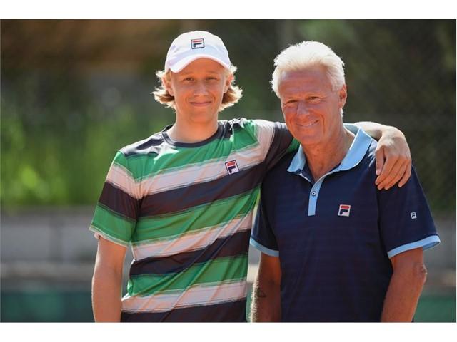 FILA Newsmarket : FILA Sponsors Leo Borg, Son of Tennis