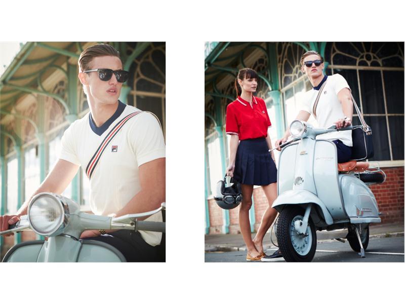 FILA Newsmarket : New Vintage <b>Lookbook</b> from FILA UK
