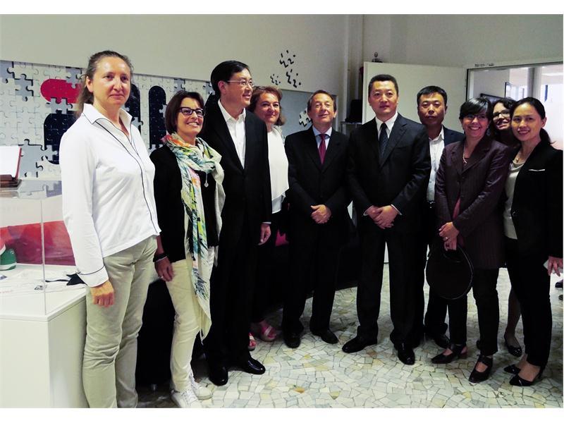 <b>FILA</b> Newsmarket : The <b>FILA</b> Museum Welcomes <b>Chinese</b> Delegates