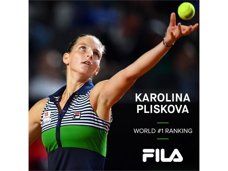 <b>FILA</b> Newsmarket : <b>FILA</b> Tennis Athlete Karolina Pliskova Becomes ...