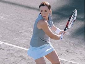 Jelena Jankovic Net Set Video
