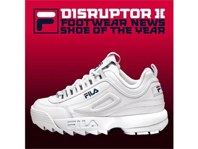 "FILA's Disruptor 2 Named Footwear News ""Shoe of the Year"""