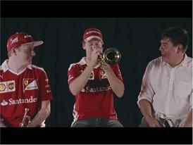 ¡Vettel  y Räikkönen dando la nota!,