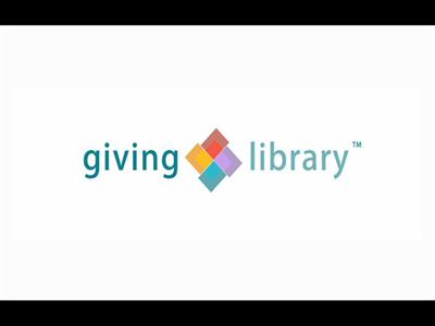 "Giving Library Challenges Philanthropists to ""Give Smart"""