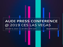Save the date: Audi press conference at the CES live from Las Vegas