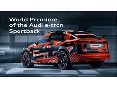 Save the date: world premiere of the Audi e-tron Sportback in Los Angeles