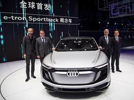 Auto Shanghai 2017: World Premiere of Audi e-tron Sportsback