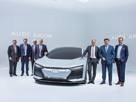 Audi press conference at the IAA in Frankfurt