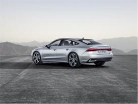 New Audi A7 Sportback side