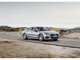 New Audi A7 Sportback driving