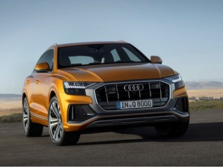 The new face of the Q family: the Audi Q8