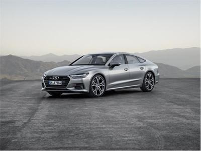New Audi A7 Sportback front