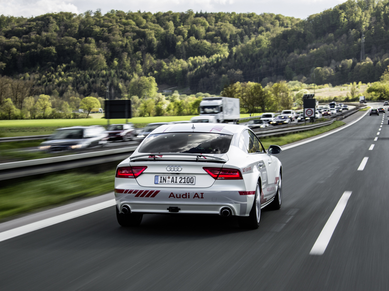 Audi Piloted Driving >> Thenewsmarket Com New Technologies For Piloted Driving Audi