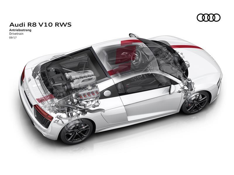 Thenewsmarket Com Puristic Driving Dynamics The New Audi R8 V10 Rws