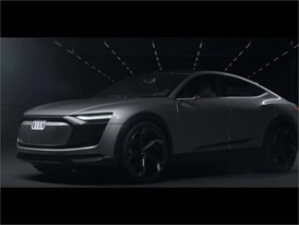 Audi e-tron Sportback concept - The design study from the Auto Shanghai