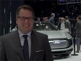 Dr. Dietmar Voggenreiter, Board Member Sales and Marketing Audi AG on what makes e-tron Sportsback unique