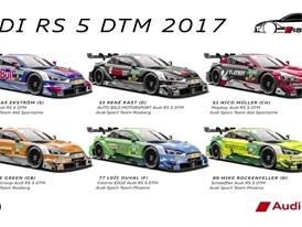 Audi DTM 2017 Infografic Hockenheim
