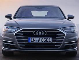 Audi A8 L grey Footage