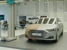 Audi A8 Development Footage