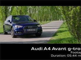 Audi A4 Avant g-tron Footage