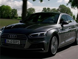 Audi A5 Sportback g-tron Footage