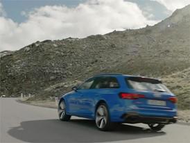 Audi RS 4 Avant Trailer DE