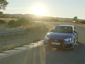 Audi RS 4 Avant Footage