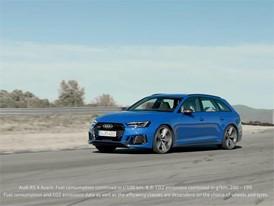 Audi RS 4 Avant Trailer EN