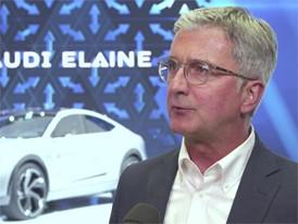 Audi IAA Interview Rupert Stadler Footage