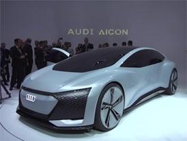 IAA Audi exhibition stand Footage