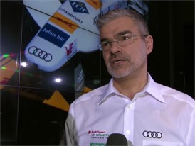 Audi Formula E Presentation  Interviews German