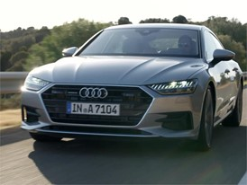 Footage Audi A7 Sportback 2017 grey