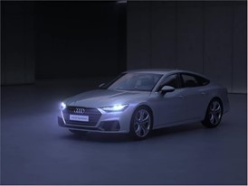 Animation Light design Audi A7 Sportback - English