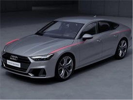Animation Exterior design Audi A7 - English