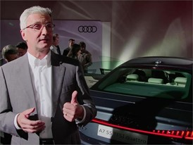 Interviews Audi A7 Sportback German English