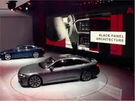 Audi A6 und Audi e-tron-Prototyp auf Genfer Autosalon