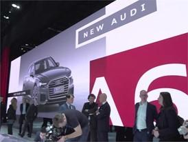 Audi Exhibition Geneva 2018 Footage